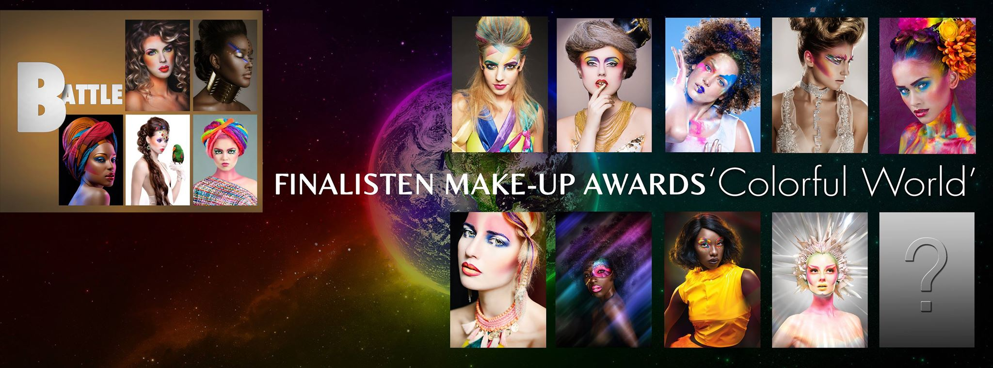Make up Awards fotoshoot