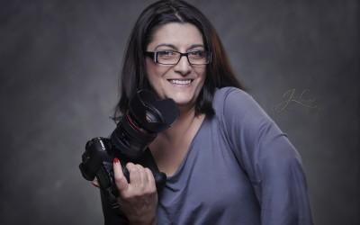 Fotosessie voor de fotografe…