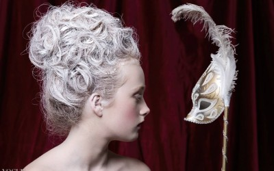 Marie Antoinette fotoshoot